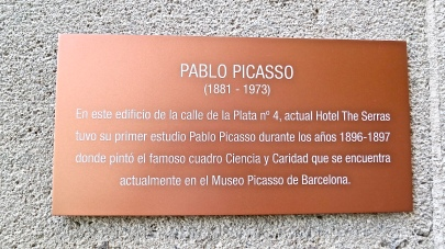 The Serras, The Site Of Pablo Picasso's First Studio
