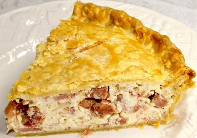 Italian Easter Pie Called Pizza Gaina