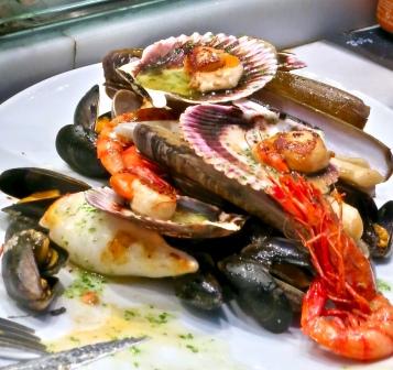 Mixed Seafood At Kiosk Universal