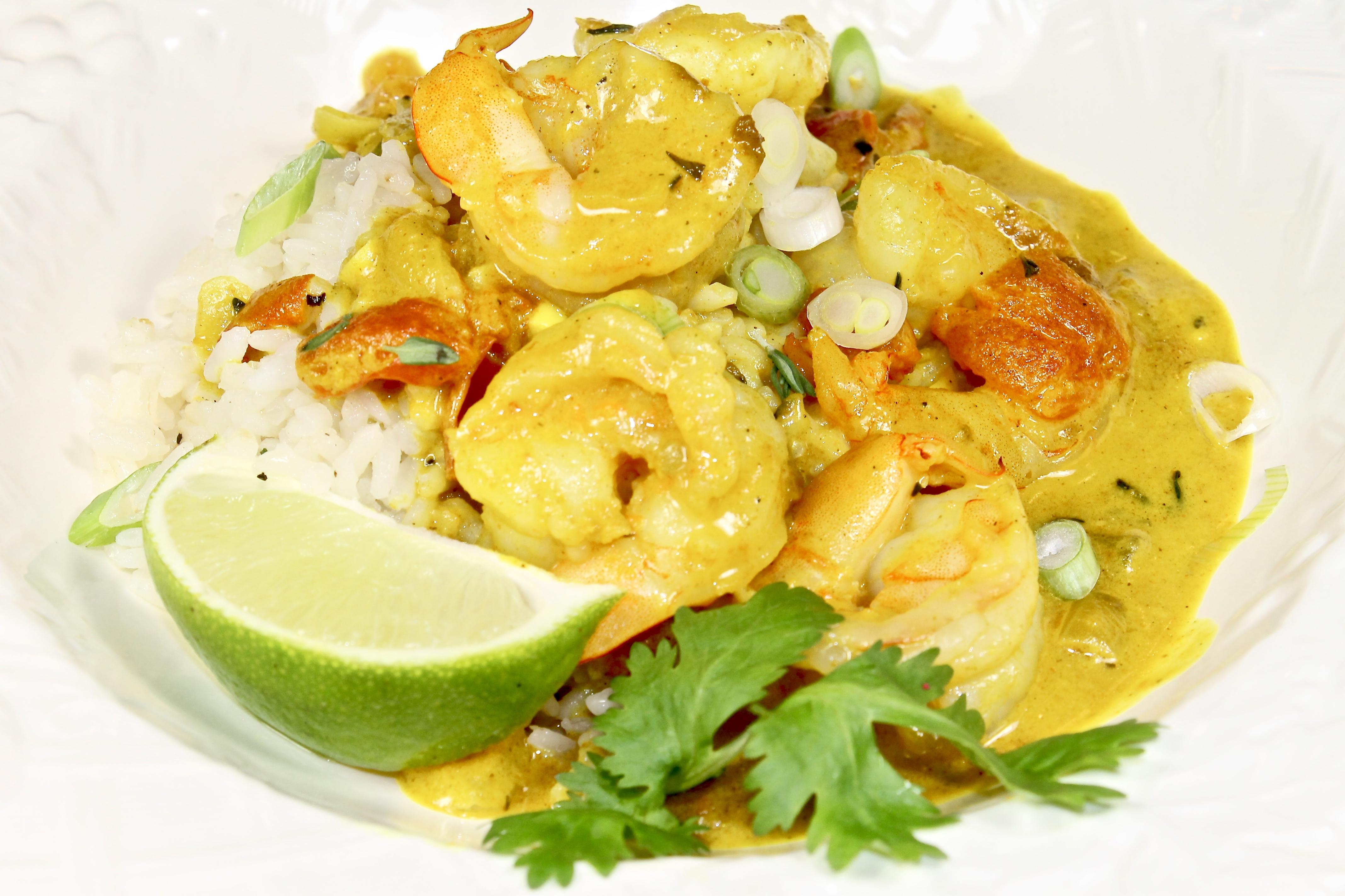 Jamaican Curry Shrimp Back Road Journal