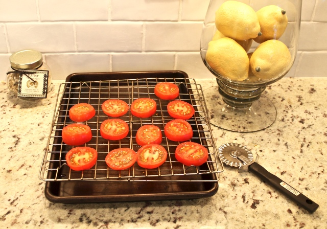 drained sliced tomatoes