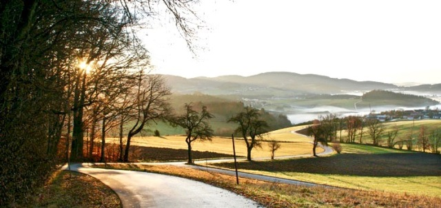 back roads of Europe