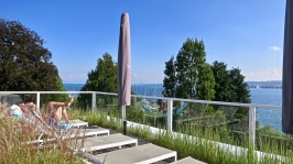 View Of Lake Constance From Rooftop Pool