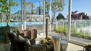 Indoor Rooftop Rest Area