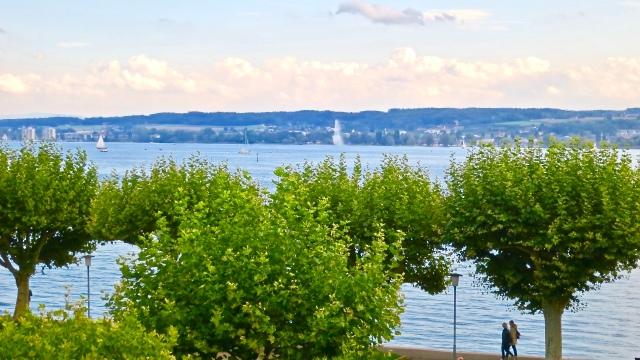 Promenade Lake Constance