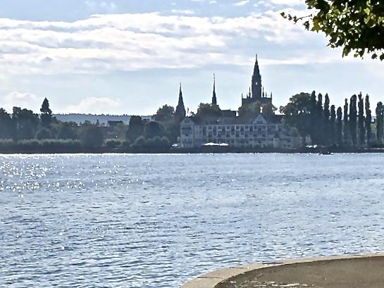 old town center of Konstanz