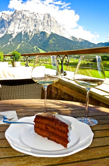 Sacher torte With A View