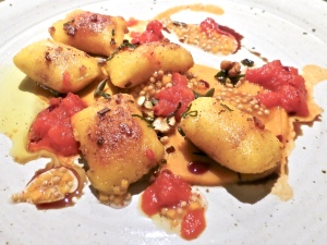 Pumpkin Gnocchi With Tomatoes