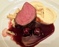 Deer With Cherry Sauce