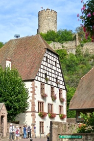 Kaysersberg Chateau Above The Town