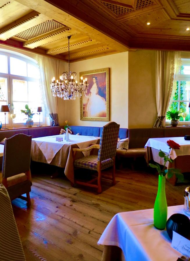 Jagdhof's Sissi Dining Room