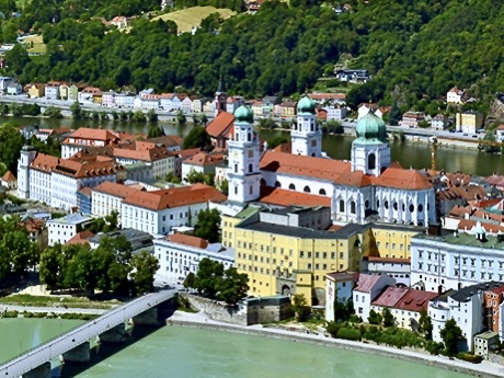 Looking Down On Passau