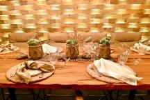 Creative Table Setting