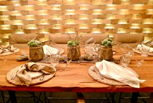 Creative Table Setting