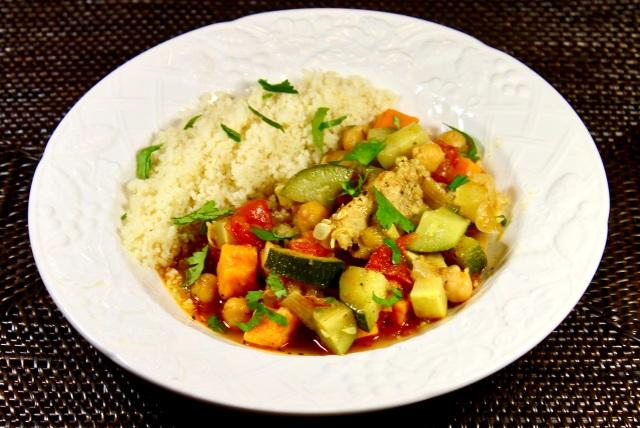 Moroccan Spiced Chicken Stew