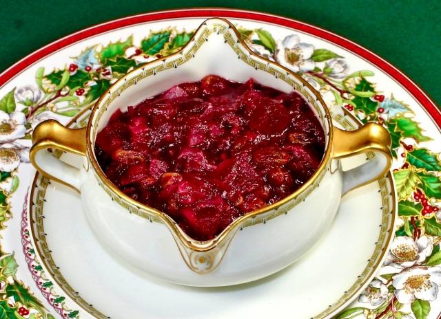 Spiced Cranberry Chutney