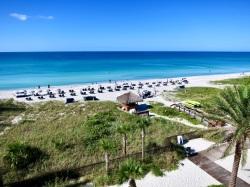 view of the beach at zota beach resort