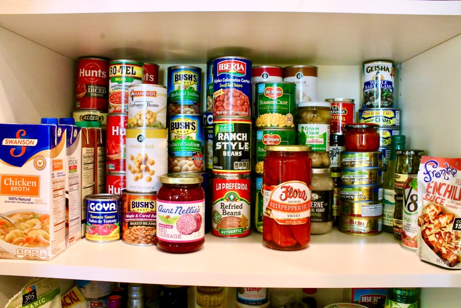 pantry canned goods