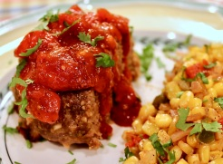 meatloaf with salsa