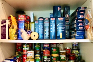 pantry canned and packaged foods