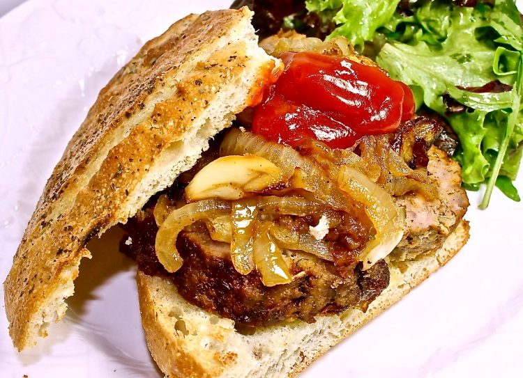 gourmet meatloaf sandwich