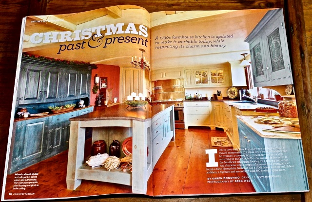 kitchen featured in country woman magazine