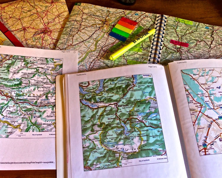 making a map book