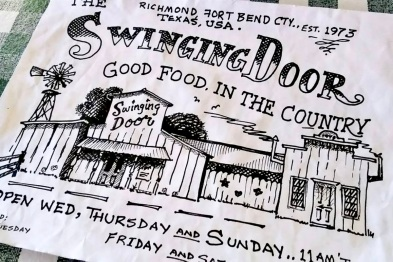 the swinging door