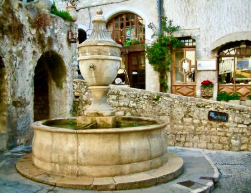 old fountain St. Paul de Vence