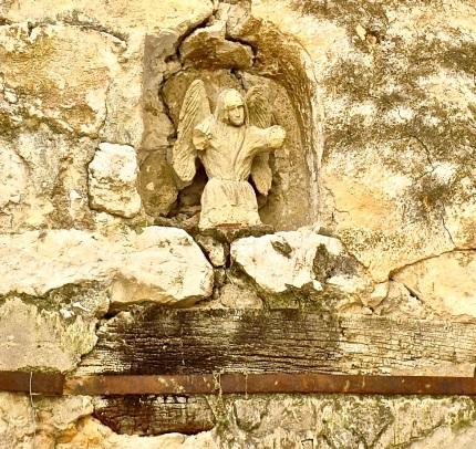 medieval stone detail