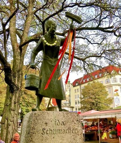 Ida Schumacher fountain