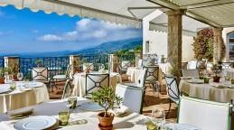 dining terrace Château Saint-Martin & Spa