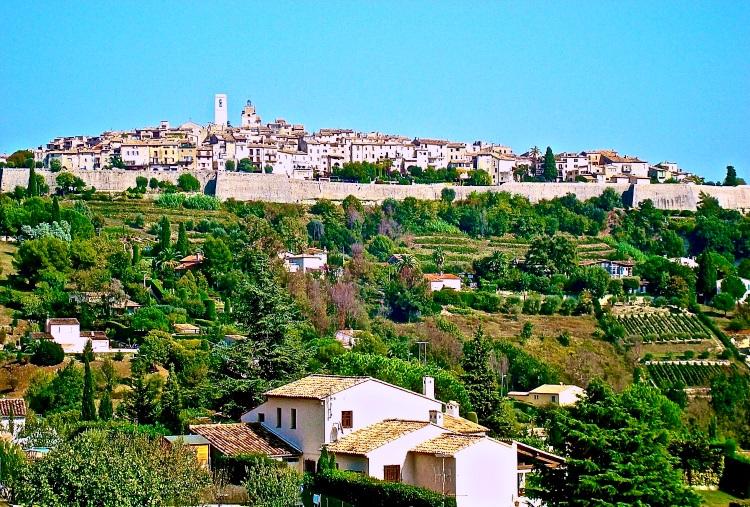 provencal hilltop village