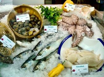 fresh fish Viktualienmarkt.