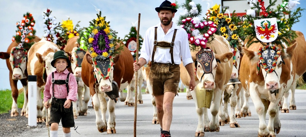 almabtrieb parade