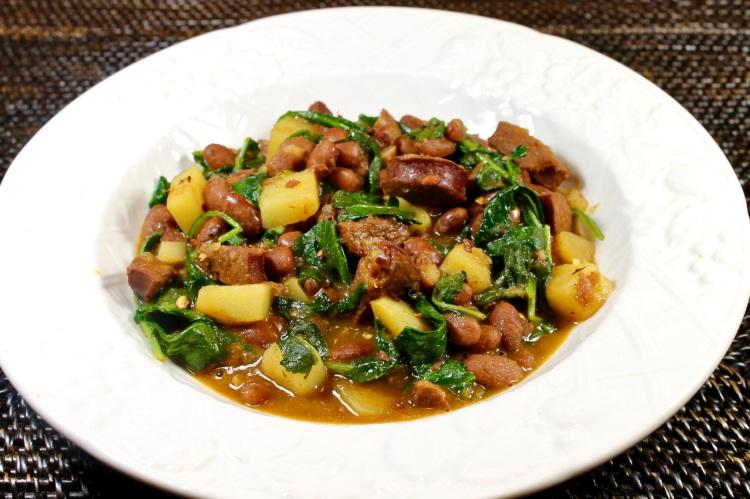 Portuguese bean stew