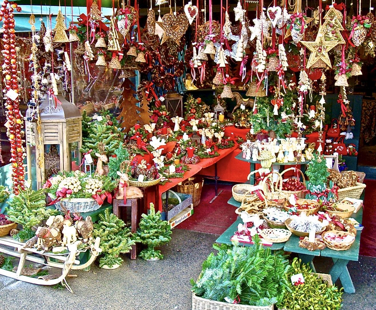 Salzburg Christmas Stall