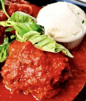 meatballs with ricotta
