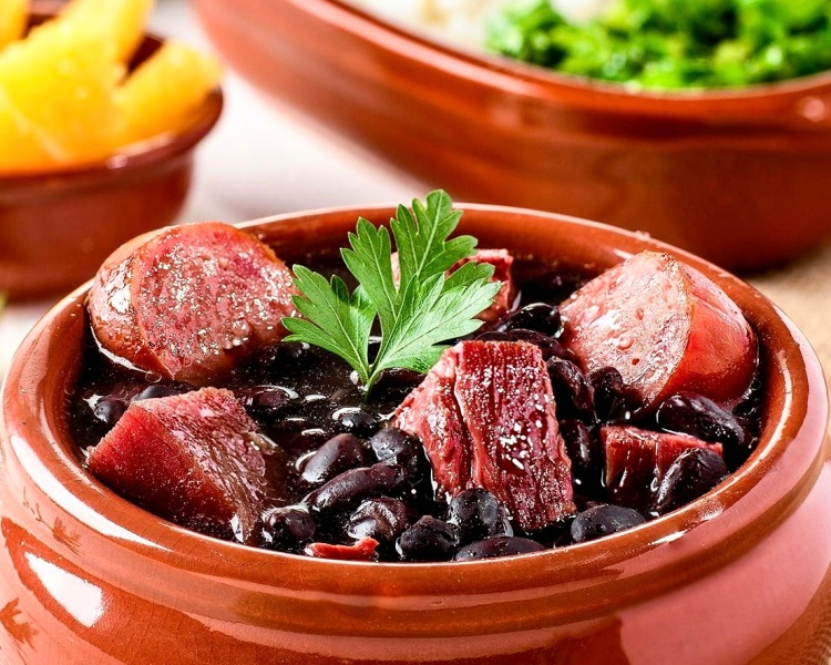 feijoada bean and meat stew