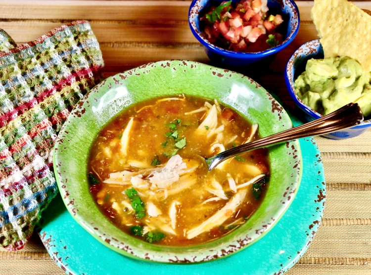 Mexican Chicken Tortila Soup