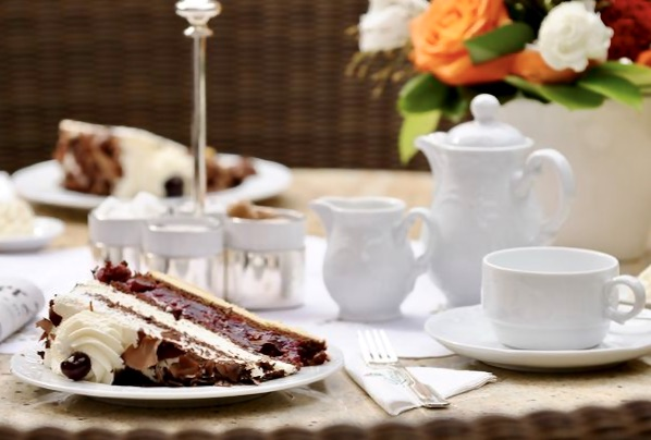 Black Forest cake at Hotel Bareiss