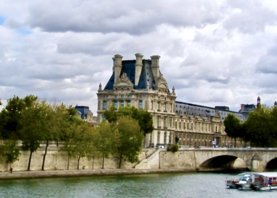 beautiful buildings along the seine