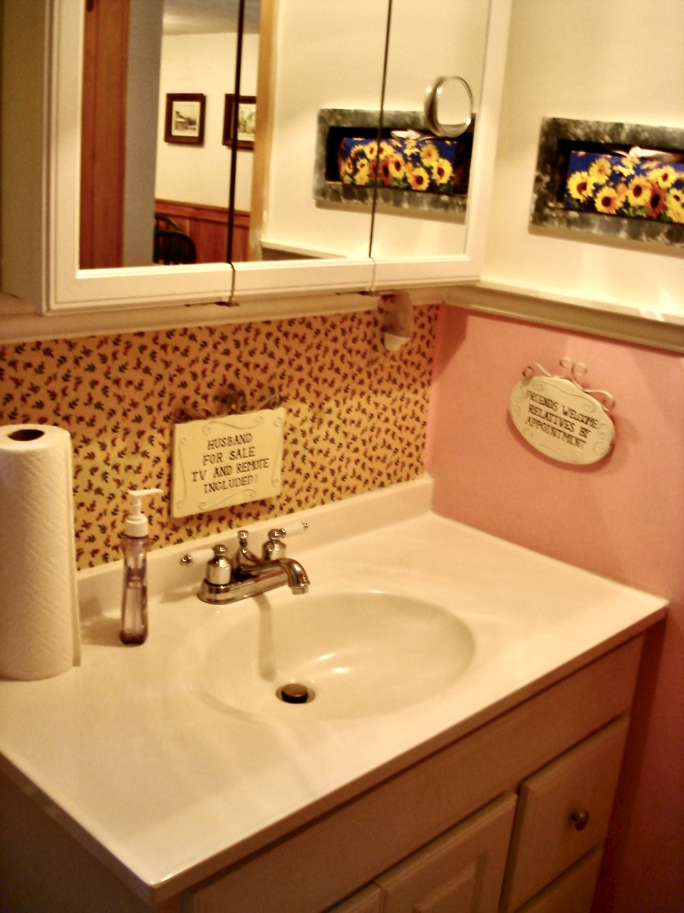 dated bathroom
