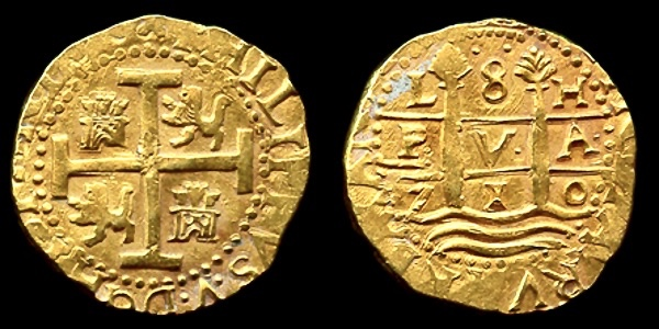 gold coins discovered in Spanish shipwreck