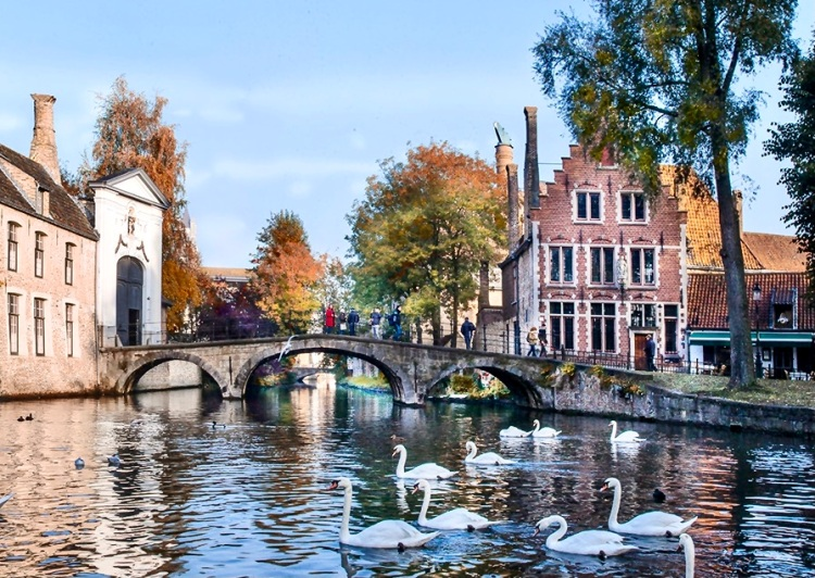 Bruges, one of the most charming cities in Europe