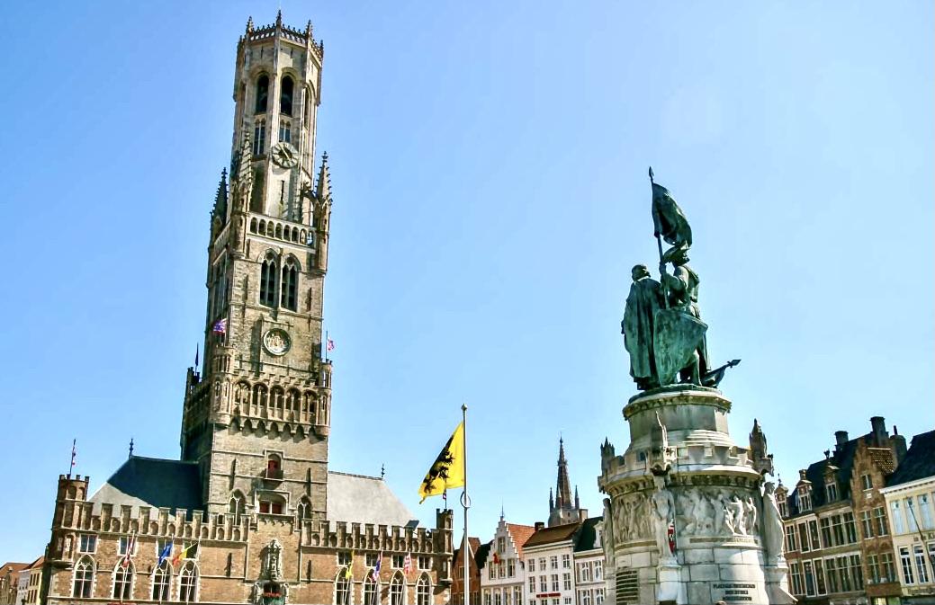 Bruges Belfry Tower Market Square